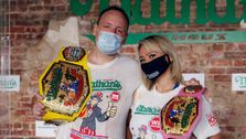 Nathan's Famous Hot Dog Eating Contest Gets A Coronavirus Makeover