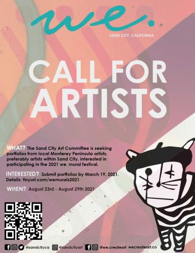Sand City Art Committee sends out call for local artists