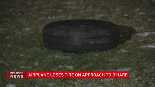 Wheel from small plane flying into O'Hare lands in Jefferson Park neighborhood