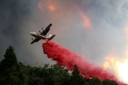 California brush fire burns more than 10,000 acres in less than 24 hours