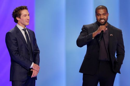 Kanye West talks about serving God during visit with Joel Osteen