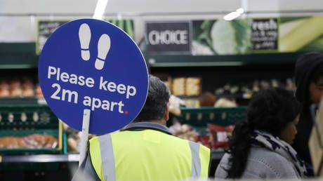 Britain's biggest supermarkets block bulk-buying key products as new coronavirus restrictions spark fears of shortages