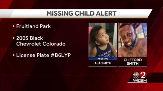 Florida Missing Child Alert issued for 1-year-old last seen in Fruitland Park