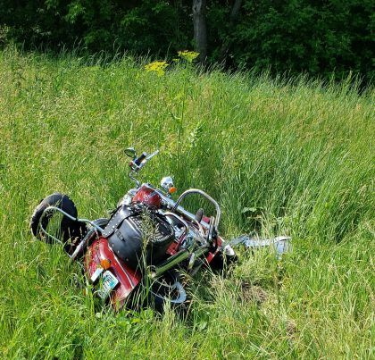 1 In Hospital After Motorcycle Collides With Deer In Wisconsin