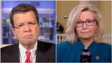 Liz Cheney's Answer On If She'd Ever Vote For Trump Stumps Fox News Anchor