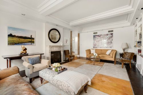 Condé Nast alum Lucy Danziger and gallerist husband James sell Park Ave. pad
