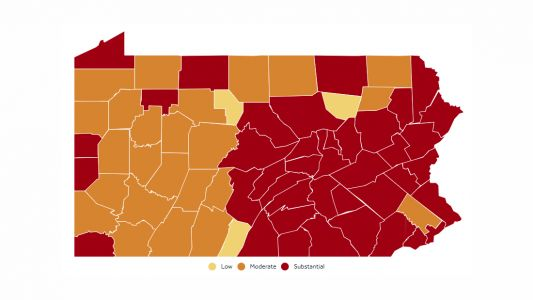 COVID-19 transmission levels in Pa.: Allegheny County is now 'moderate,' down from 'substantial'