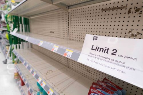 Worried about more shortages, grocery stores are stockpiling goods