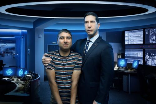 David Schwimmer and costar Nick Mohammed on their new workplace comedy 'Intelligence'