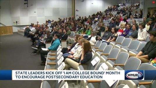 State leaders kick off 'I Am College Bound Month' to encourage post-secondary education