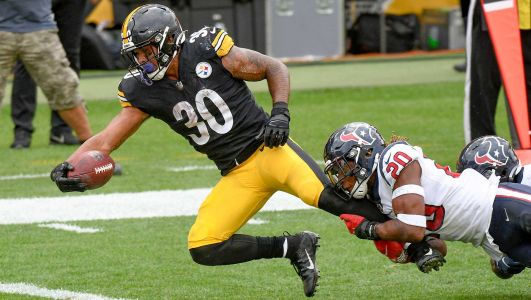 Steelers RB James Conner letting play do the talking during hot start