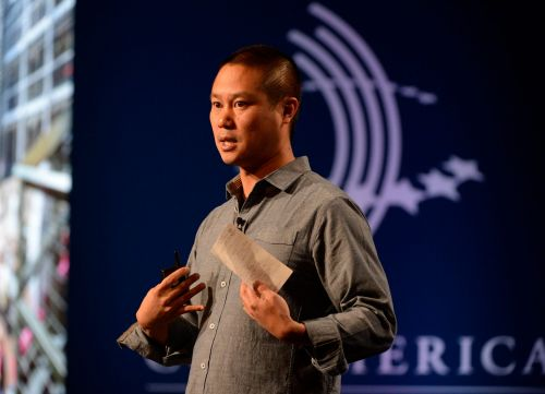 Tributes pour in on Twitter in the wake of former Zappos CEO Tony Hsieh's death