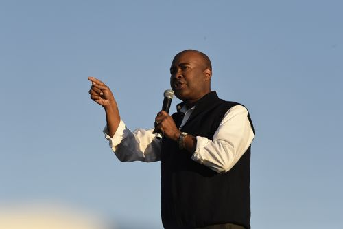Why Jaime Harrison won't say a bad word about Trump