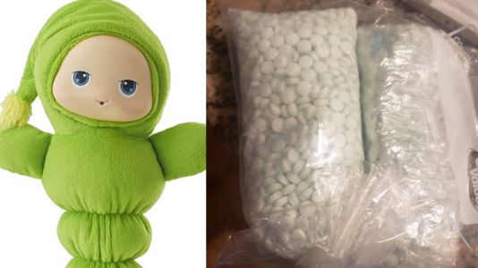 Parents find 5,000 fentanyl pills in child's toy from thrift store