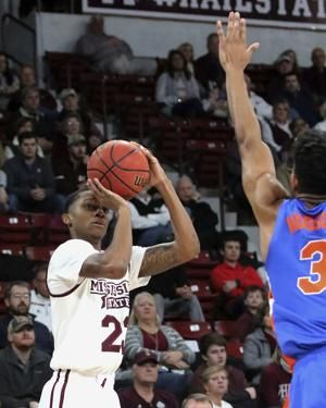 Weatherspoon lifts No. 24 Mississippi St over Florida 71-68