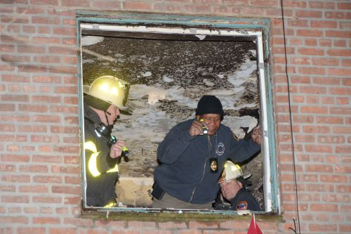 Woman killed in fire at NYCHA building in Queens