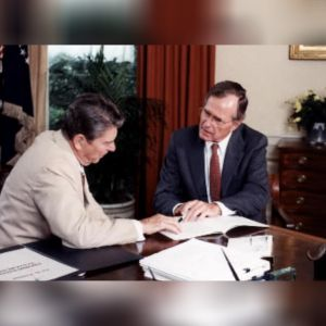 1985: George H.W. Bush becomes acting president for eight hours