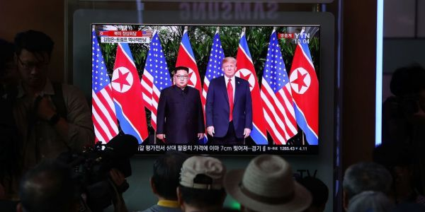 Trump and Kim Jong Un just had their first private meeting - and officials may never know exactly what was said