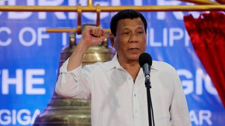 'Hold me responsible' for drug war killings - Philippines leader Duterte