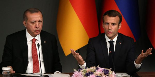 France pulled its ambassador from Turkey, and Arab states are boycotting French products, after Macron said he wanted to regulate Islam