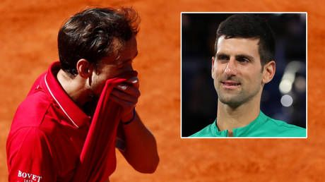 A row with fans, a nosebleed and good news for Djokovic: Russian tennis star Medvedev makes eventful exit from Madrid Open