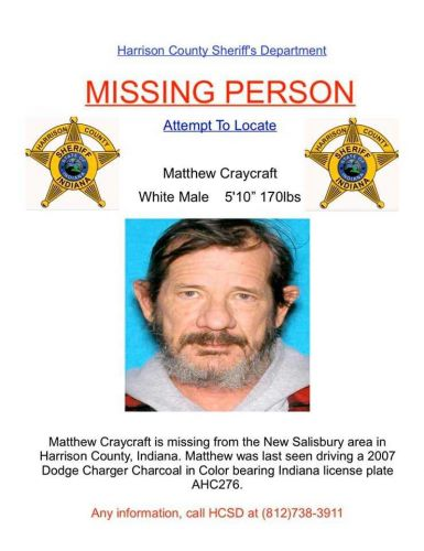 Have you seen him? Harrison County Sheriff's Department needs help locating missing man
