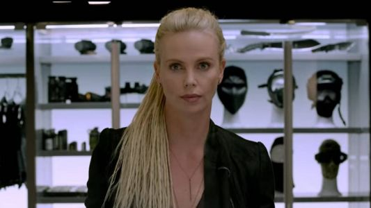 Charlize Theron is back in the next 'Fast and the Furious' movie and she's showing off a completely new hairdo