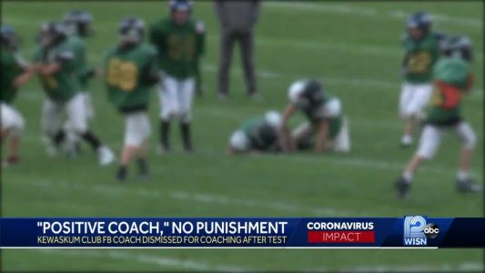 Kewaskum youth football coach will not face legal charges after exposing team to COVID-19