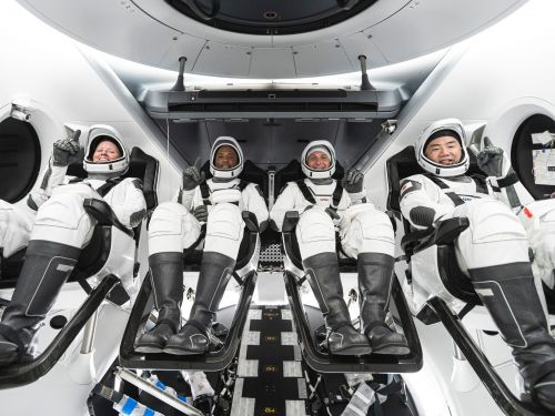 Astronauts just named SpaceX's newest spaceship 'Resilience' ahead of a major launch