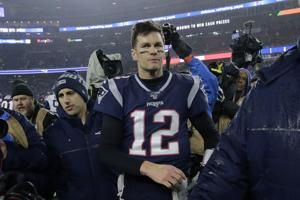 Tom Brady headliner even in the Super Bowl he's sitting out