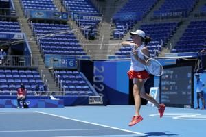 Grasping for air: Heat a major issue at Olympic tennis venue