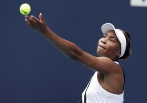 3-time champ Venus Williams wins opening match at Miami Open