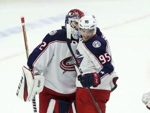 Duchene gets win with Blue Jackets after trade from Ottawa