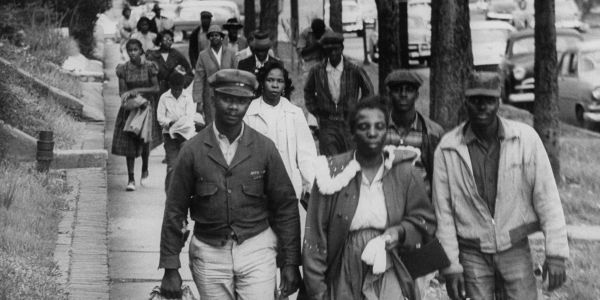 The Montgomery Bus Boycott kicked off 64 years ago today. See startling photos of the boycott that jump-started the civil rights movement
