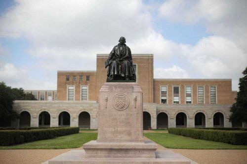 Rice University will hold classes in outdoor tents