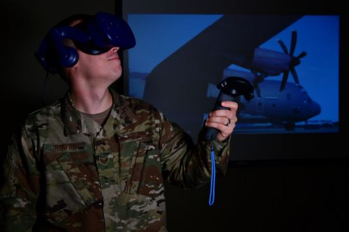AETC, AMC team up on VR solutions for modern C-130 training