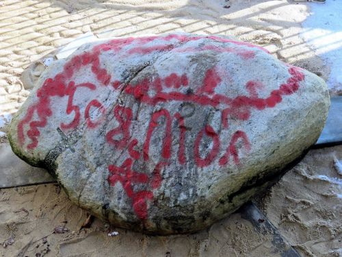Iconic Plymouth Rock, other landmarks vandalized