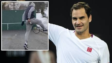 'Making sure I still know how to hit trick shots': Swiss ace Roger Federer making the most of his time in lockdown