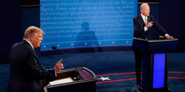 Biden landed punches in the first debate, but you'd barely notice because Trump doesn't fight fair