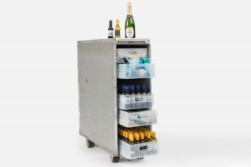 Australian airline selling stocked bar carts from retired jets