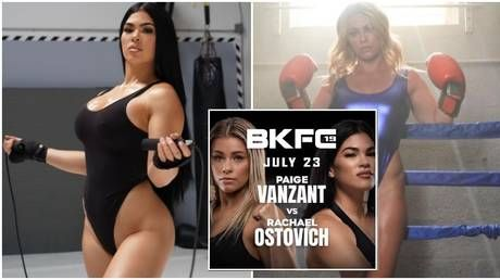 Skip to it: Ex-UFC's Ostovich flaunts curves on social media as she amps up training for VanZant bare-knuckle bout