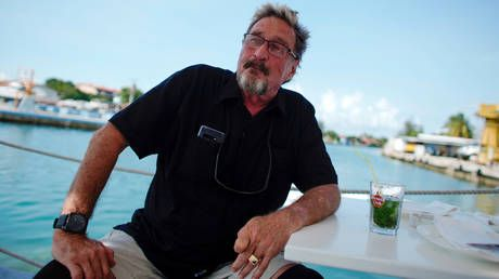 'I have nothing': Imprisoned software guru John McAfee says his crypto fortune is gone