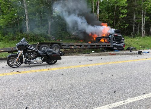 Pickup truck driver arrested for fatal motorcycle crash that killed seven