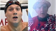 Caeleb Dressel Gets World-Record Gold And A Kitschy Song Tribute