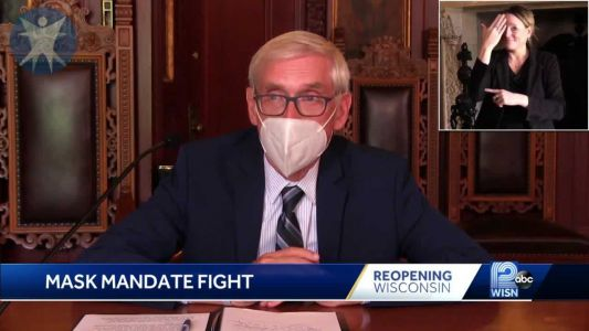 Evers says mask mandate works to slow coronavirus while Republicans eye challenge