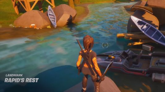 Visit The Shark, Rapid's Rest and Gorgeous Gorge for Fortnite challenge