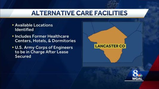Buildings in Lancaster County being considered for use as alternative care sites
