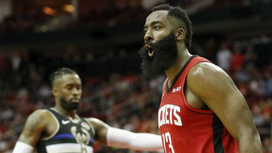 Five insane stats from James Harden's early-season run with Rockets