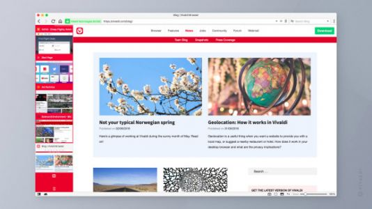 Vivaldi releases version 2.0 of its browser featuring expanded customization and privacy tools