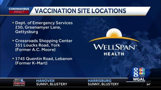 WellSpan Health expanding COVID-19 vaccinations
